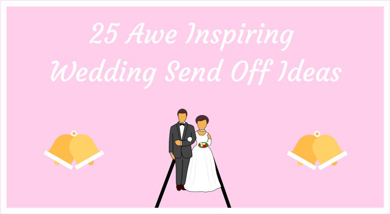 wedding send off ideas banner