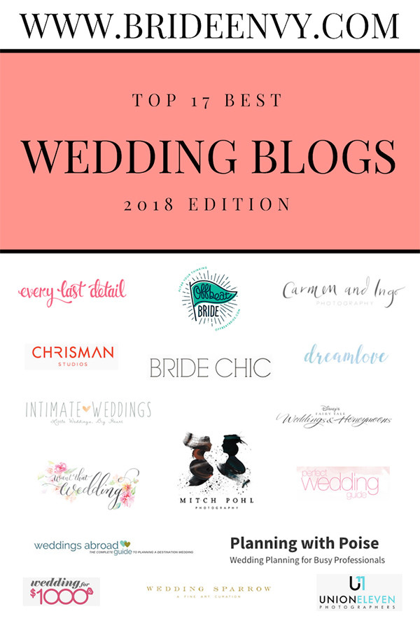 The Top 17 Best Wedding Blogs 2019 Edition
