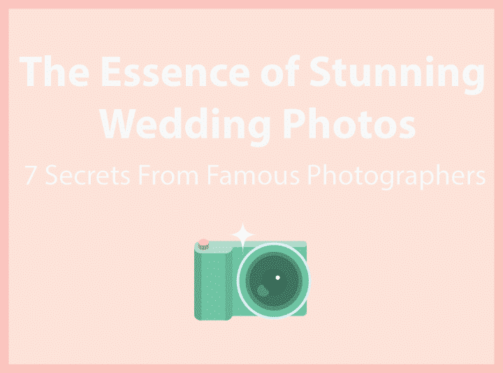 essence of stunning wedding photos header