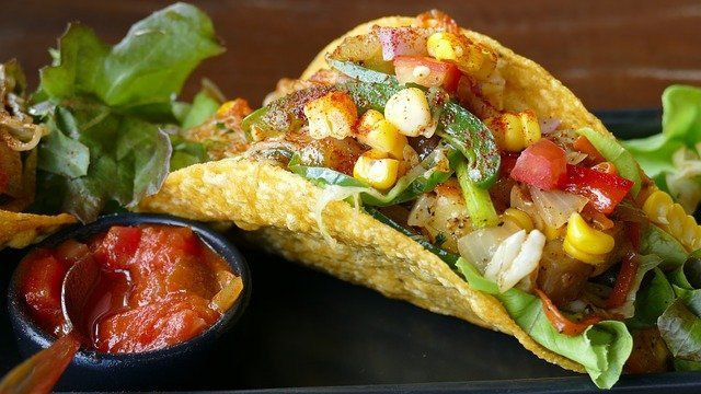 Build Your Own Taco Buffet Style