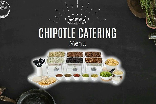 Chipotle Catering Menu Banner