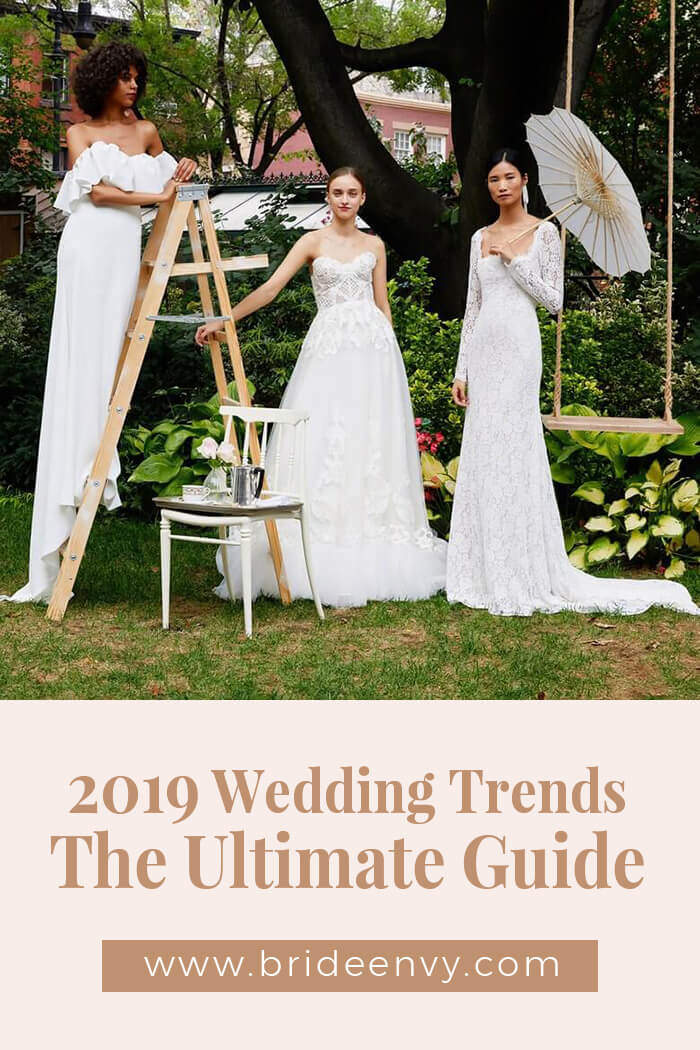 2019 Wedding Trends.2019 Wedding Trends The Ultimate Guide Bride Envy