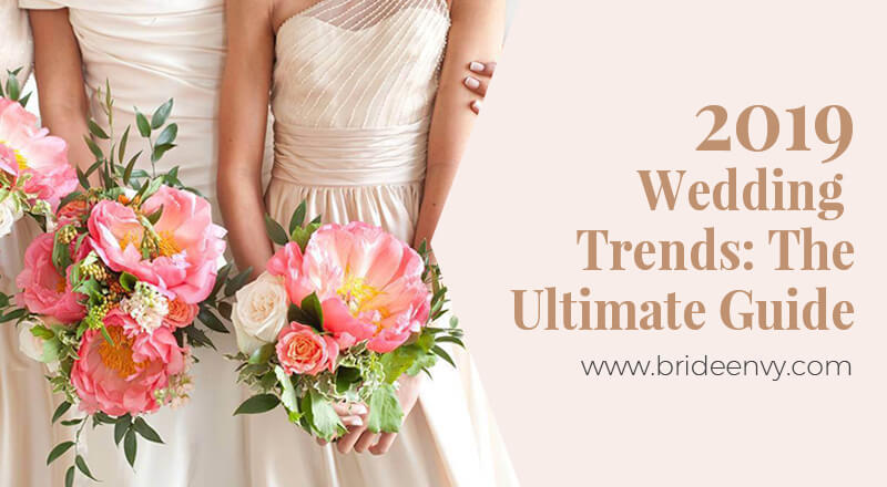 2019 Wedding Trends: The Ultimate Guide Banner