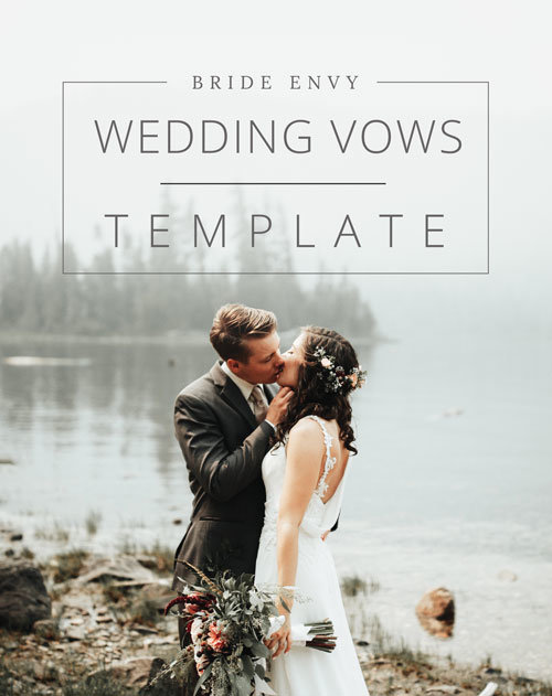 With Our Free Wedding Vows Template You Ll Have The Aunce In Tears